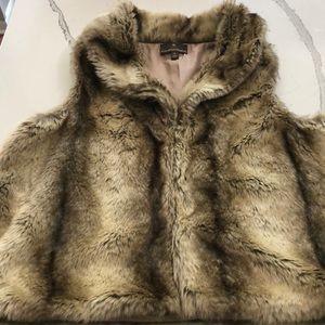Fenn Wright Manson Faux Fur Vest-NWOT